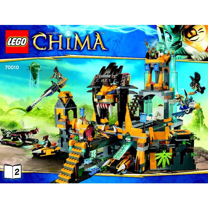 Lego The Lion Chi Temple Set 70010 Instructions Brick Owl Lego