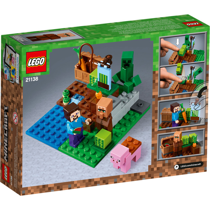 lego minecraft the farm instructions