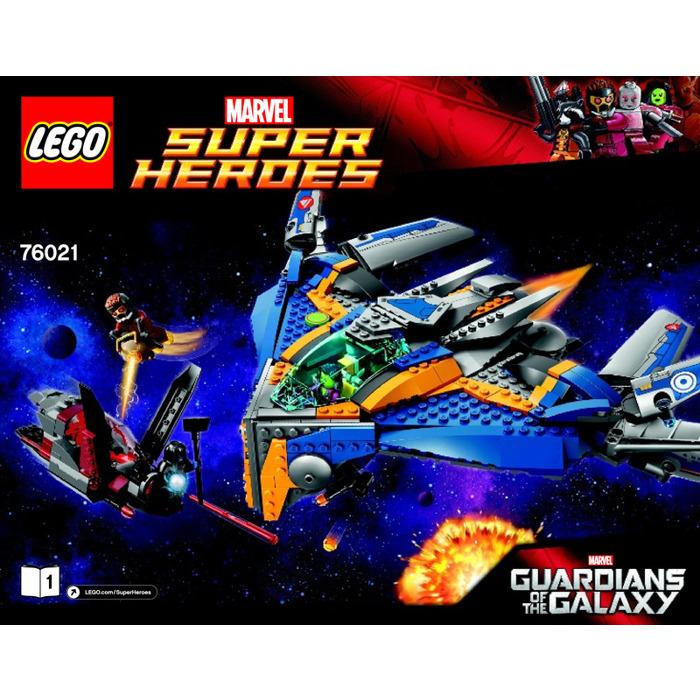Lego The Milano Spaceship Rescue Set 76021 Instructions Brick Owl