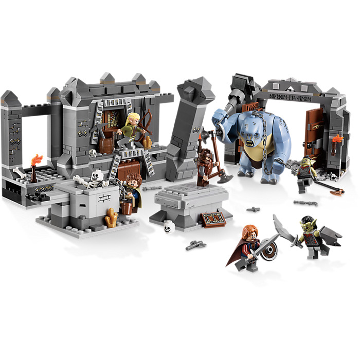 CAVE TROLL MINIFIG // MINI FIGURE LORD OF THE RINGS LEGO 9473