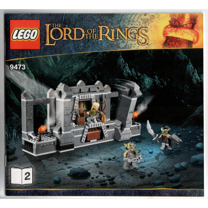 Lego The Mines Of Moria Set 9473 Instructions Brick Owl Lego