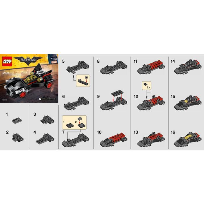 Lego The Mini Ultimate Batmobile Set 30526 Instructions Brick Owl