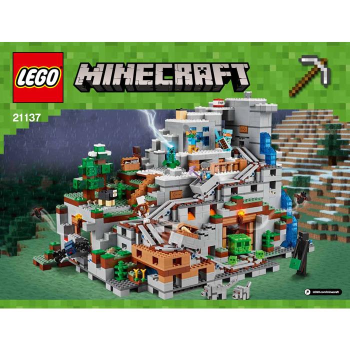 Lego The Mountain Cave Set 21137 Instructions Brick Owl Lego