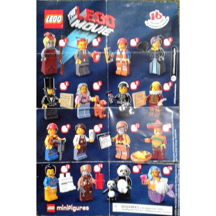Lego The Movie Series Random Bag Set 71004 0 Instructions Brick Owl Lego Marketplace