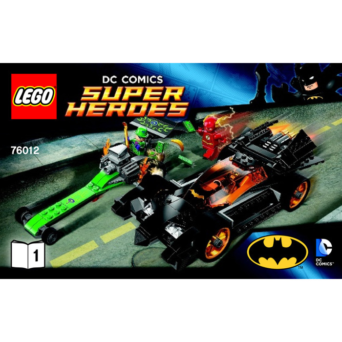 LEGO The Riddler Chase Set 76012 Instructions | Brick Owl ...