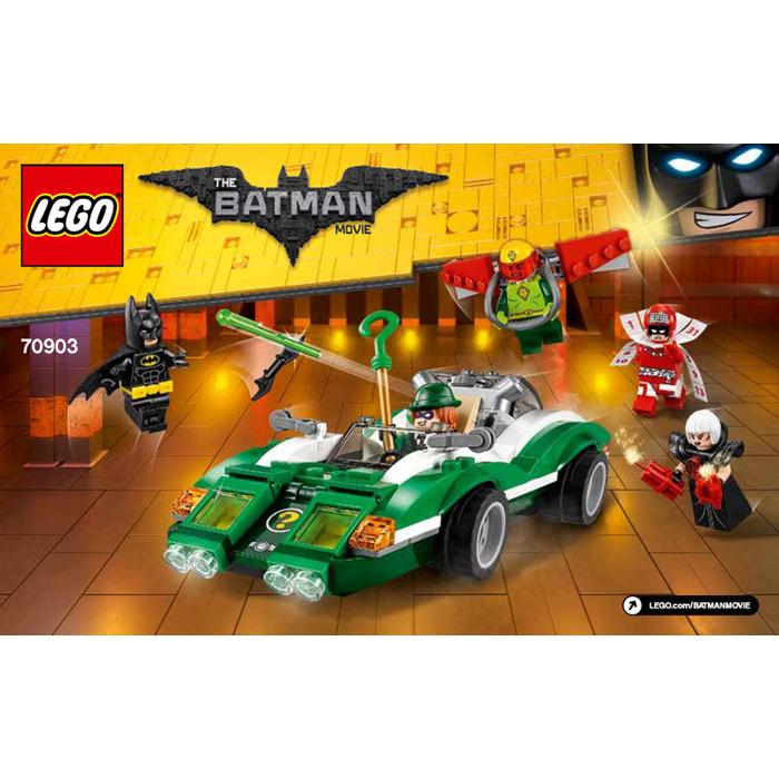 Lego The Riddler Riddle Racer Set 70903 Instructions Brick Owl