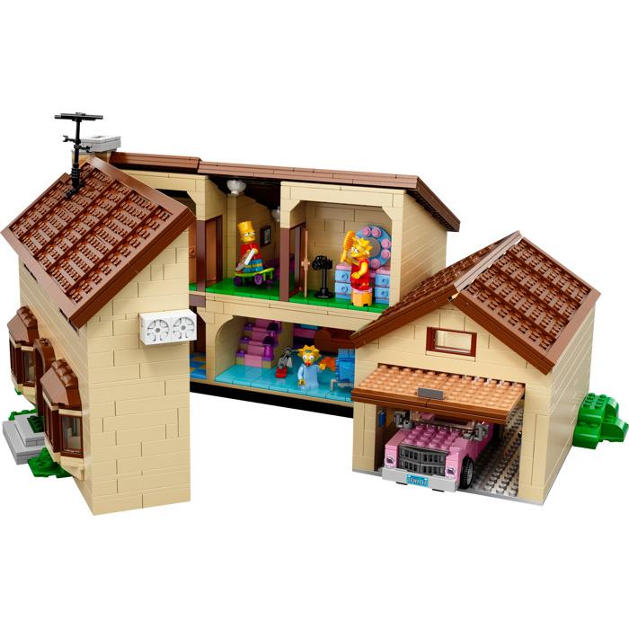 Lego the simpsons house set 71006 brick owl lego for Lego house original