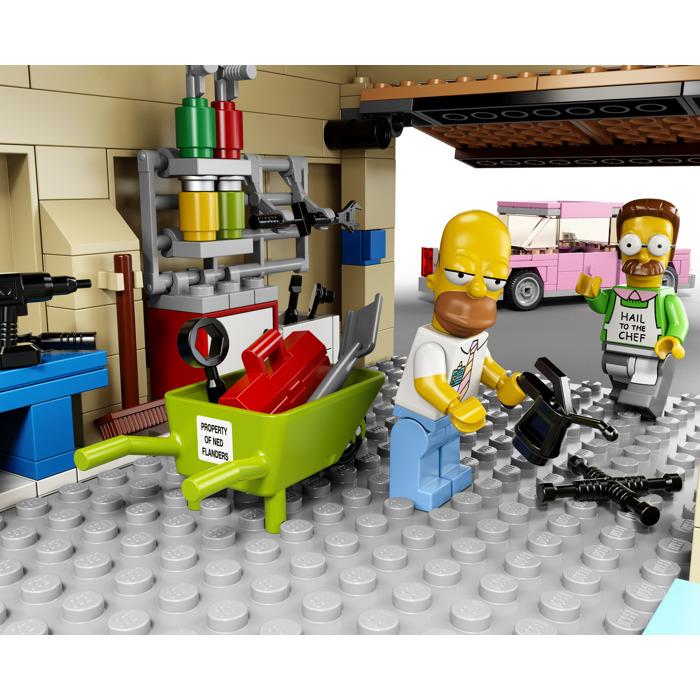 lego simpsons house instructions