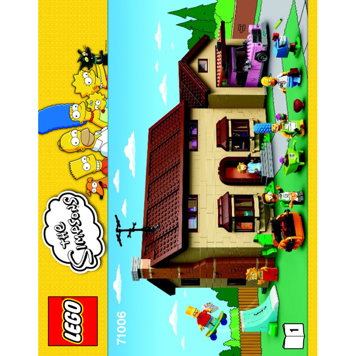 Lego The Simpsons House Set 71006 Instructions Brick Owl Lego