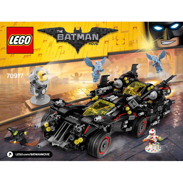 lego the ultimate batmobile set 70917 instructions brick. Black Bedroom Furniture Sets. Home Design Ideas