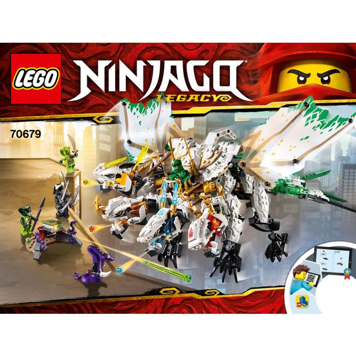 Lego The Ultra Dragon Set 70679 Instructions Brick Owl Lego