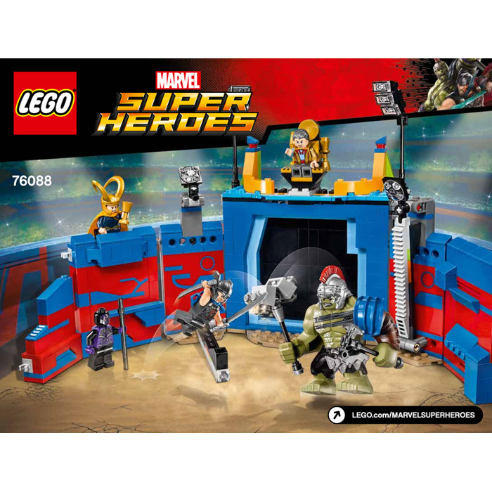 lego marvel superheroes instructions