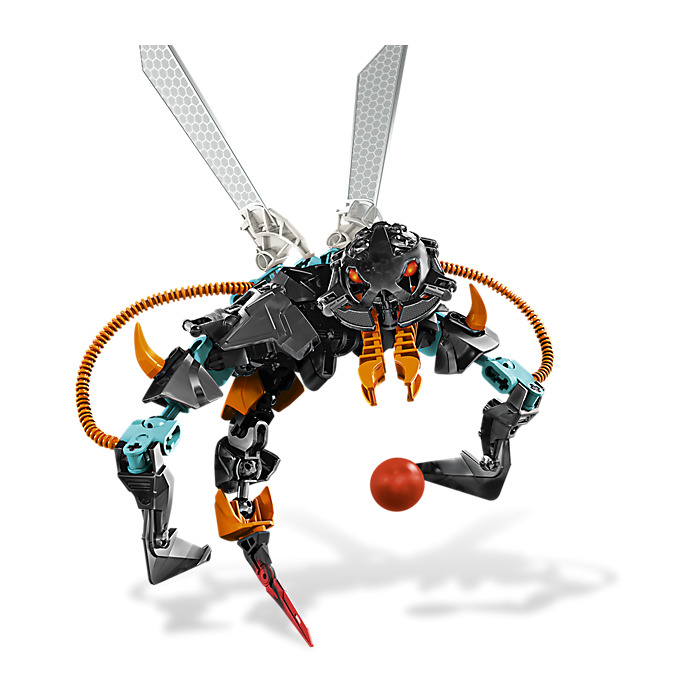 Lego Orange Hero Factory Armor With Ball Joint Socket Size 3 90641