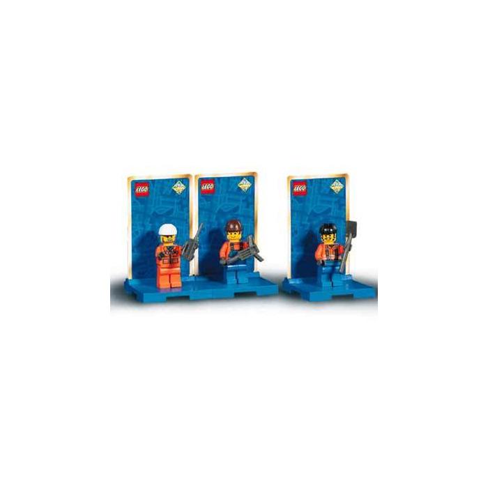 lego three minifig pack city 2 set 3351 brick owl lego marketplace. Black Bedroom Furniture Sets. Home Design Ideas