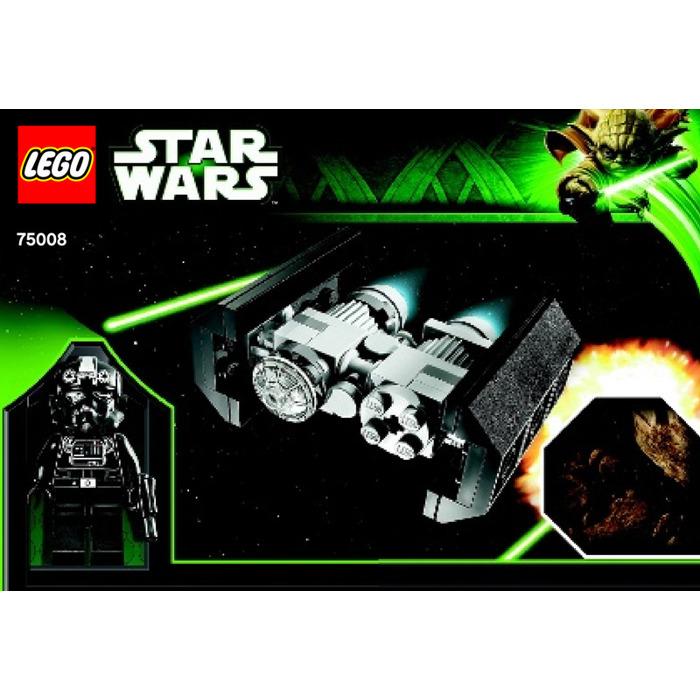 Lego Tie Bomber Asteroid Field Set 75008 Instructions Brick Owl