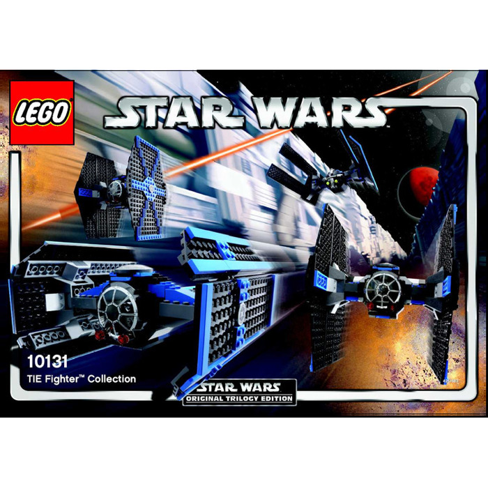 Lego Tie Fighter Collection Set 10131 Instructions Brick Owl