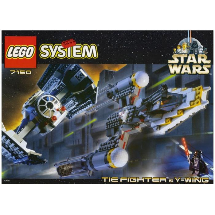 Buy Lego Star Wars Y Wing Starfighter: LEGO TIE Fighter & Y-wing Set 7150