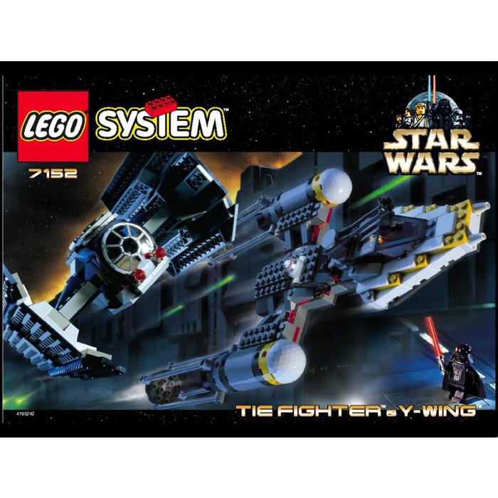 Lego Tie Fighter Y Wing Set 7152 Instructions Brick Owl Lego