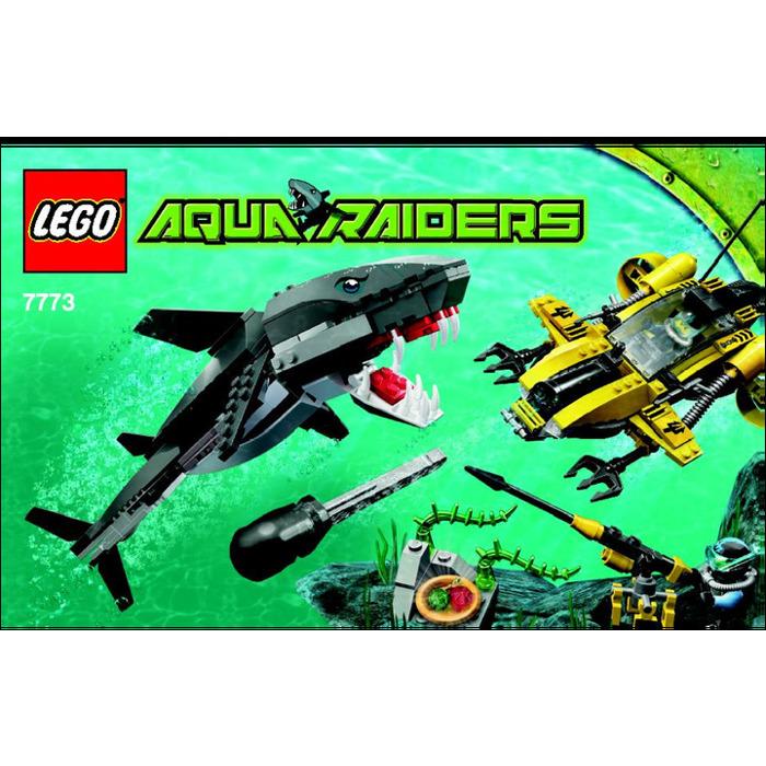 Lego Tiger Shark Attack Set 7773 Instructions Brick Owl Lego