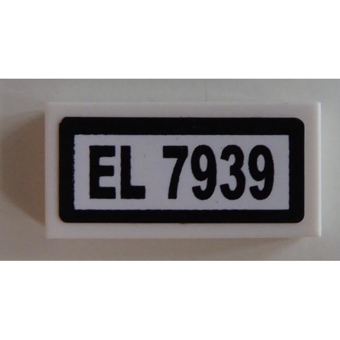 Blanc White 30070 88630 35386 NEUF Lego 3069b 100x Plaque Lisse // Tile 1x2