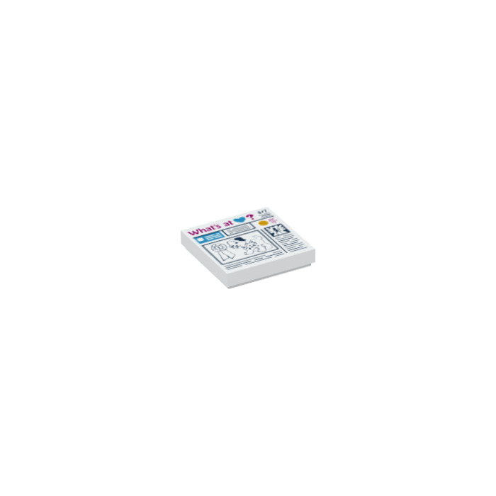 Lego ® Town Classic 2x2 Tile Tile 3068bp22 Hammer Workshop AZS 6394