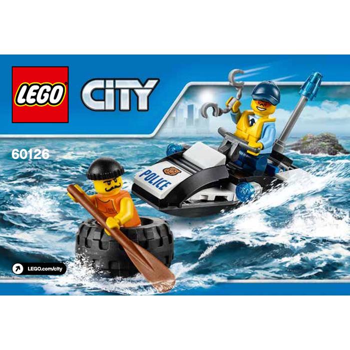 lego prison island instructions