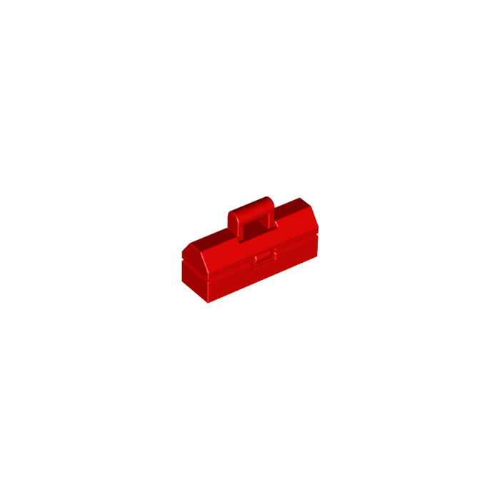 LEGO Red Tool Box For Minifigure 98368