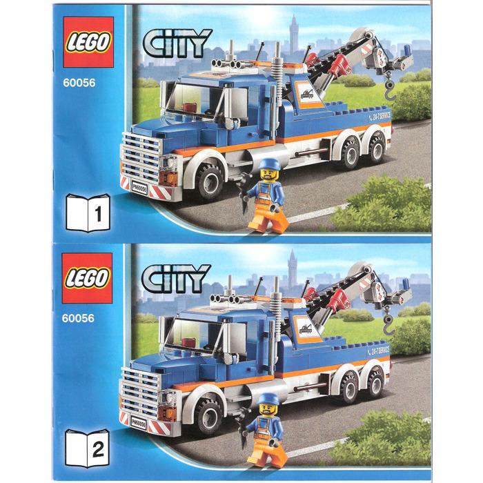 Lego Tow Truck Set 60056 Instructions Brick Owl Lego Marketplace