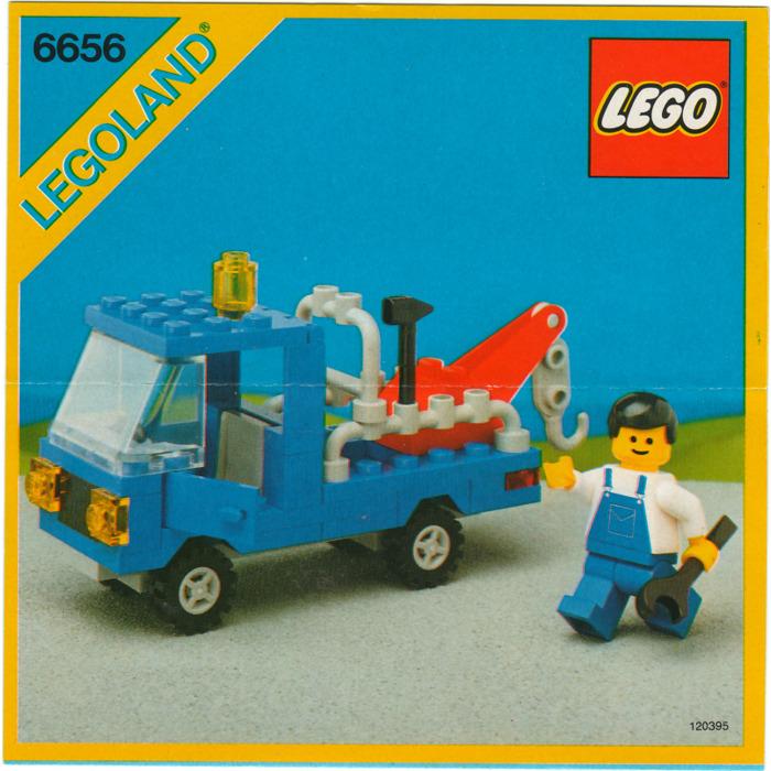 Lego Tow Truck Set 6656 Instructions Brick Owl Lego Marketplace