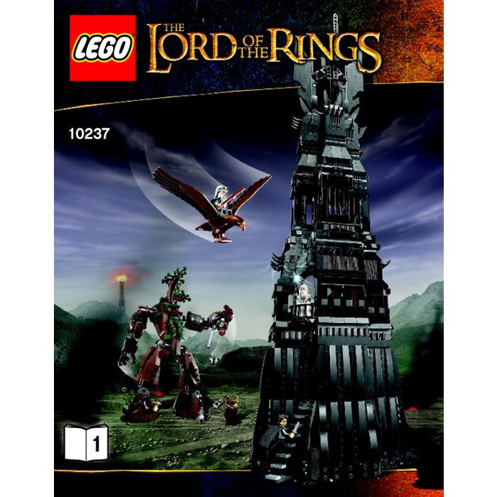 Lego Tower Of Orthanc Set 10237 Instructions Brick Owl Lego