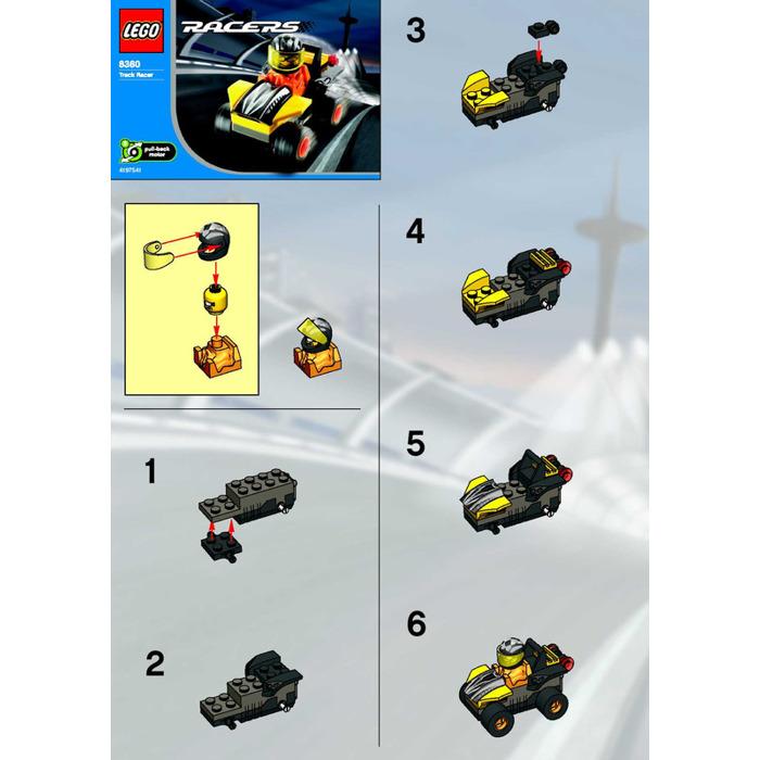 Лего как сделать гоночную машину