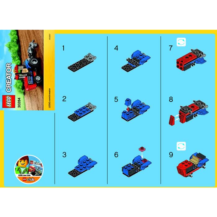 Dz4393 Set Instructions Lego 30006 Clone Walker Set Parts