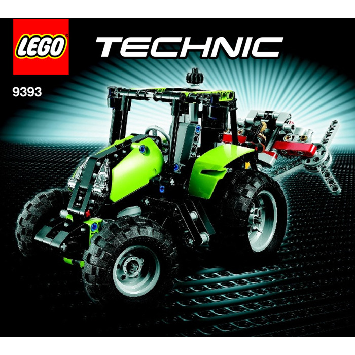 Lego Tractor Set 9393 Instructions Brick Owl Lego Marketplace