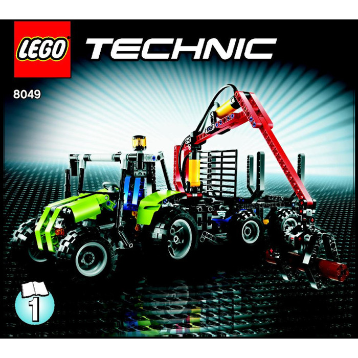 Lego Tractor With Log Loader Set 8049 Instructions Brick Owl