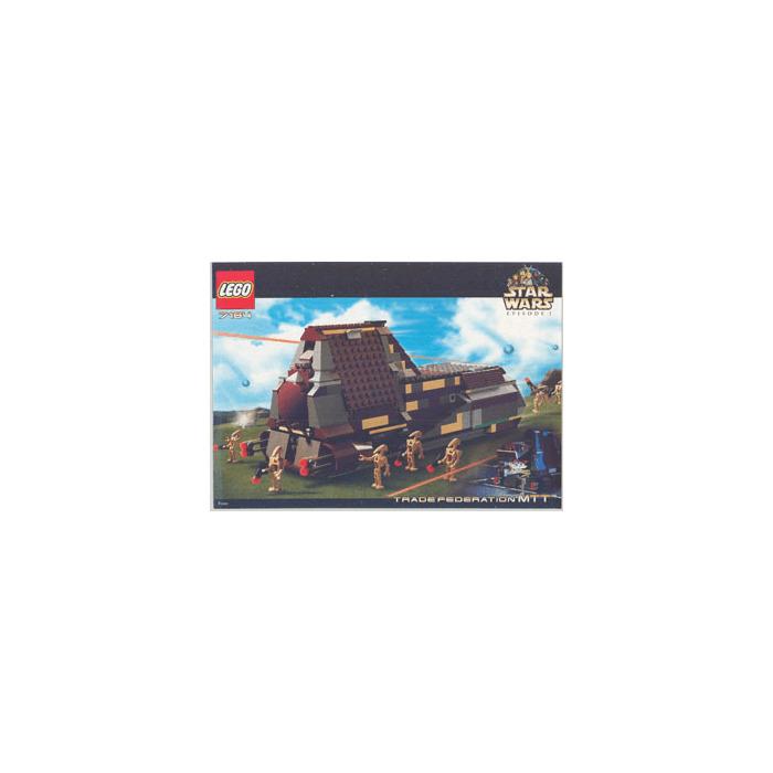 LEGO Trade Federation MTT Set 7184 Instructions