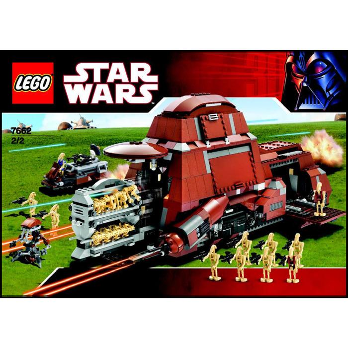 LEGO Trade Federation MTT Set 7662 Instructions