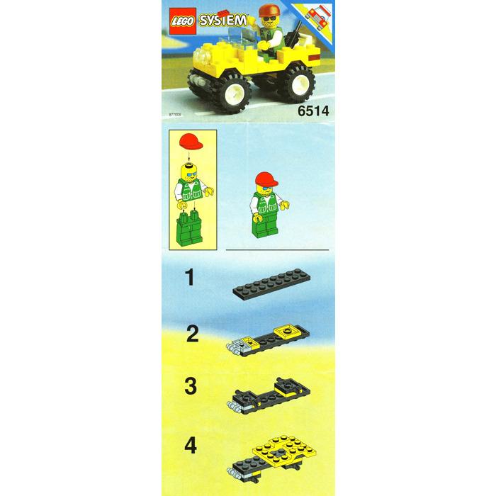 Lego Trail Ranger Set 6514 Instructions Brick Owl Lego Marketplace