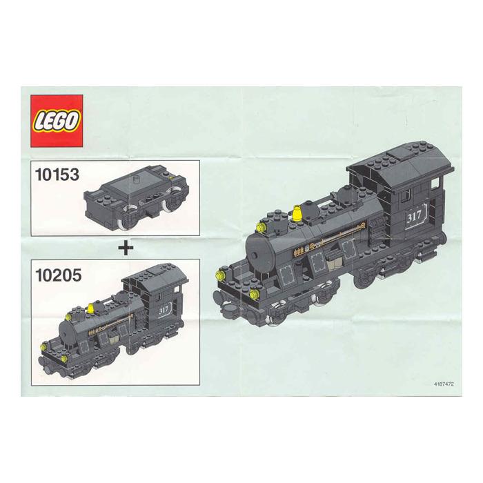lego train motor 9 v set 10153 instructions brick owl. Black Bedroom Furniture Sets. Home Design Ideas