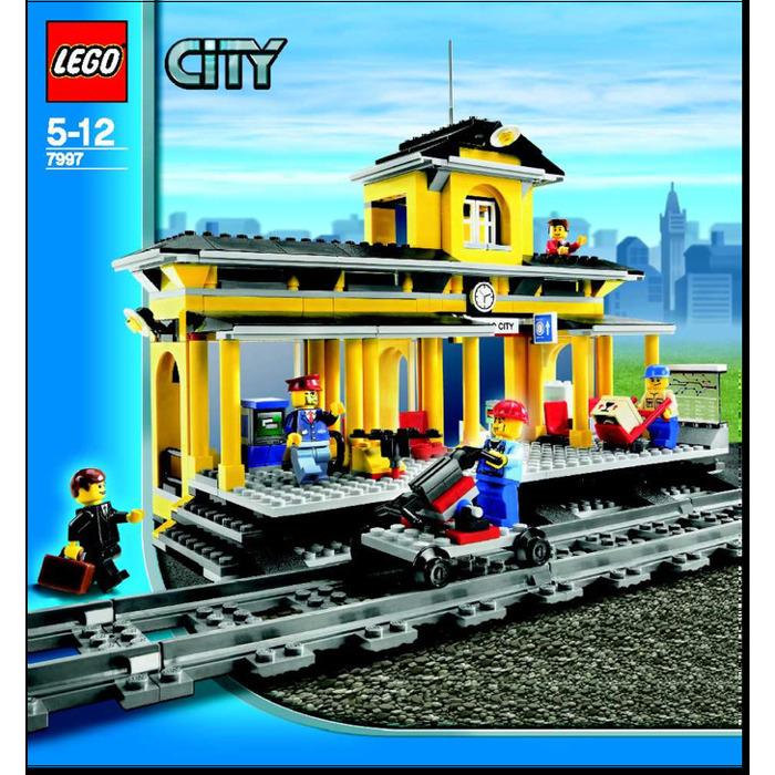 Lego Train Station Set 7997 Instructions Brick Owl Lego Marketplace