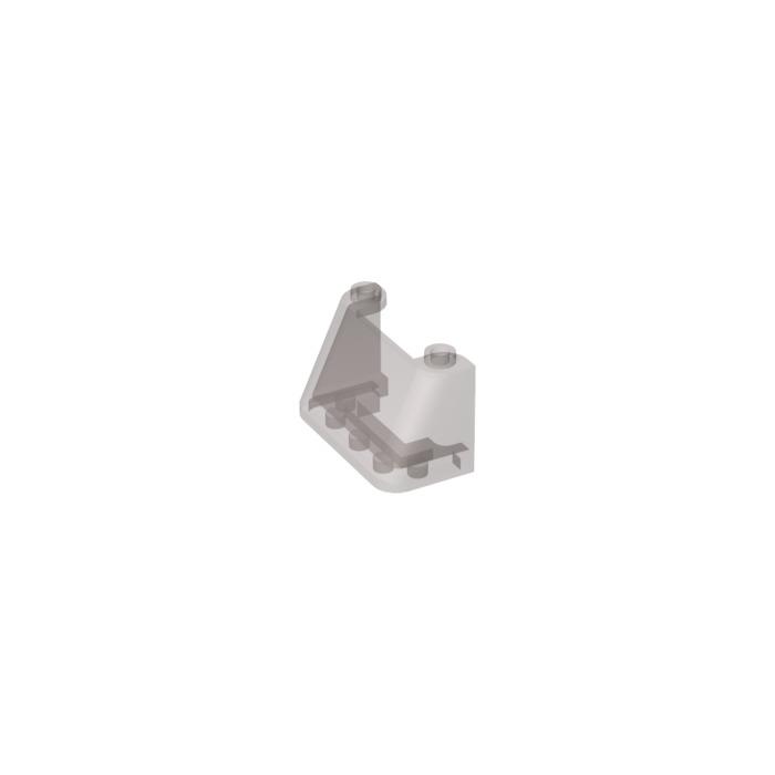 8x LEGO Trans-Clear Windscreen 2 x 4 x 2 Windshield Vehicle #3823 35260