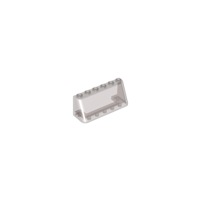 LEGO® Trans-Black Windscreen 2 x 6 x 2 Part 4176