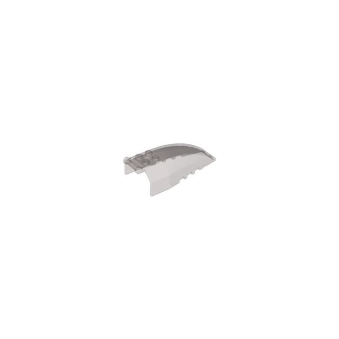 2 Pcs LEGO 92579 Transparent Black COCKPIT Windscreen 4 x 8 x 2 w// Handle