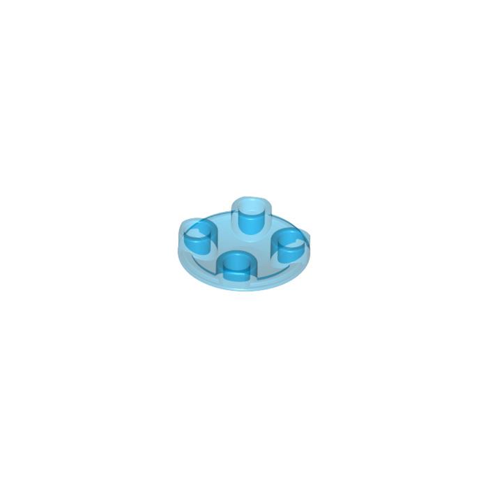 LEGO 2654 ROUND PLATE 2x2 ROUNDED BOTTOM DARK BLUISH GREY QTY x 15 BRAND NEW