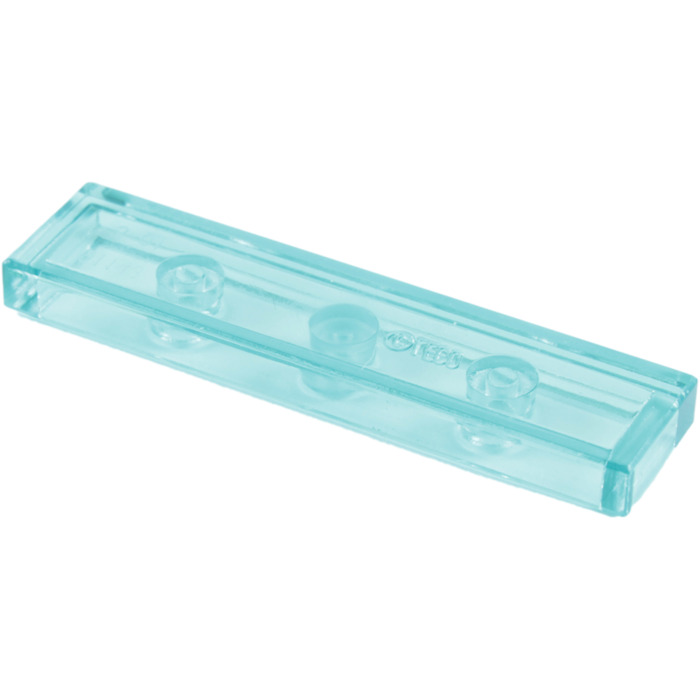 Lego 2431-4x Plaque Lisse 91143 35371 NEUF Trans Light Blue Tile 1x4