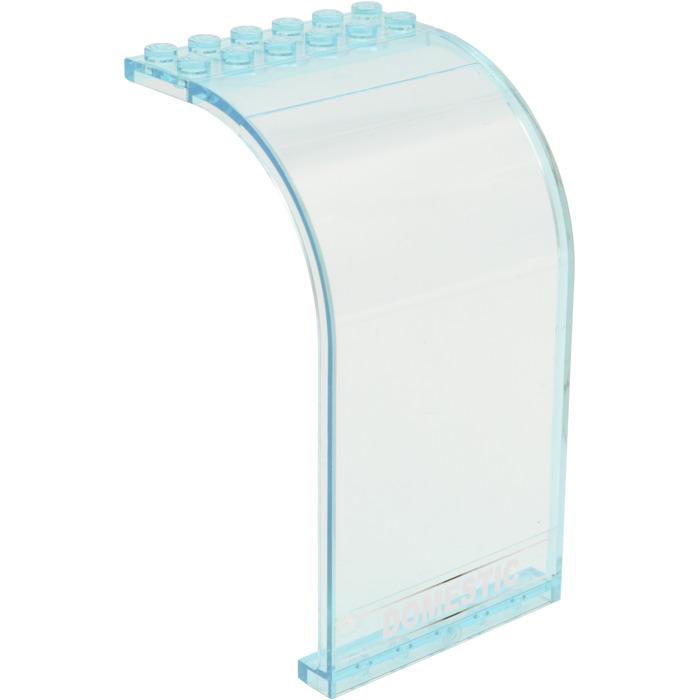 Lego Lid Parabolic 4x4 Round Transparent Light Blue 1441 #