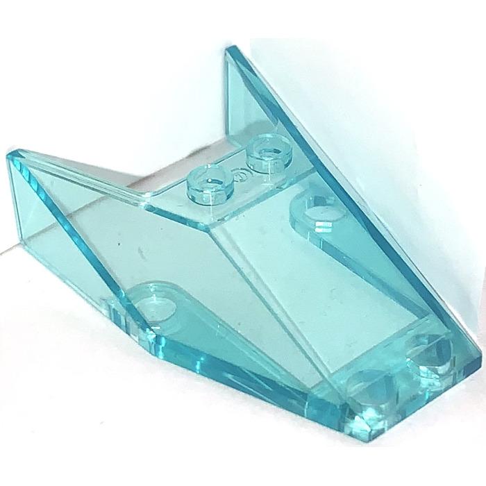 LEGO NEW 3x4x1.33 Transparent Light Blue Windscreen 2x 4228126 Brick 35243