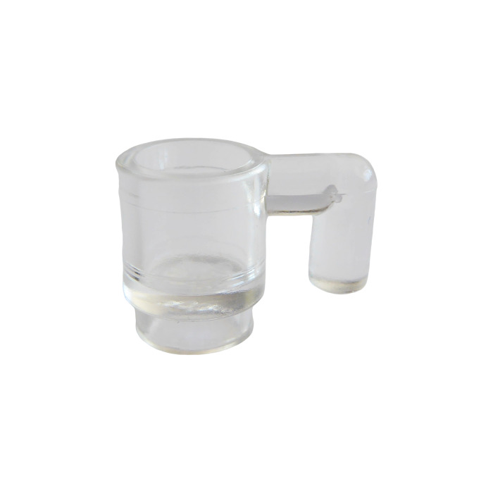 Cup Transparent Clear x 5 Mug Figure Accessory NEW LEGO Kitchen