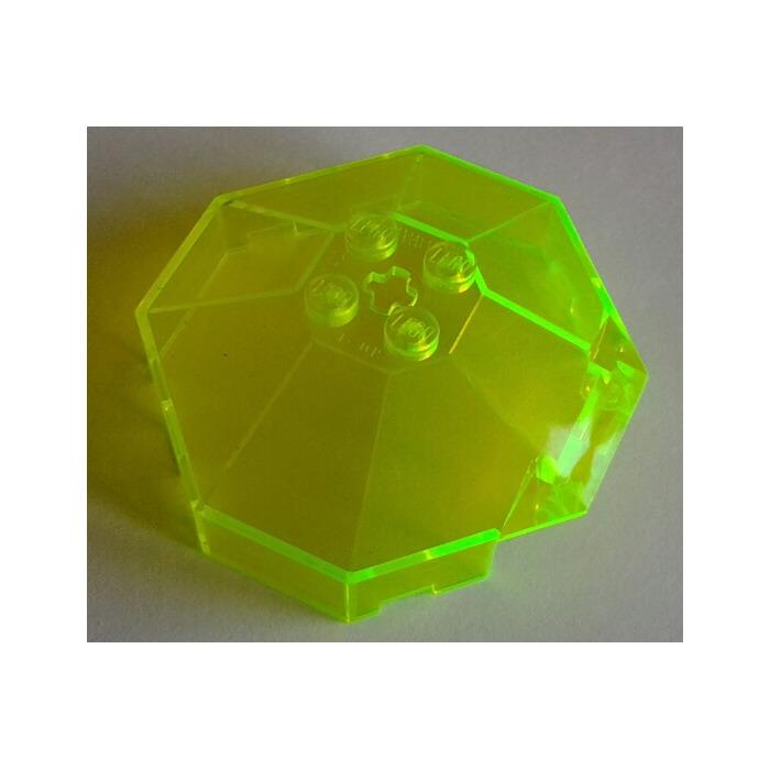 1x Windscreen 6x6x3 Canopy 50747 Trans Neon Green//Vert//Grüne Lego