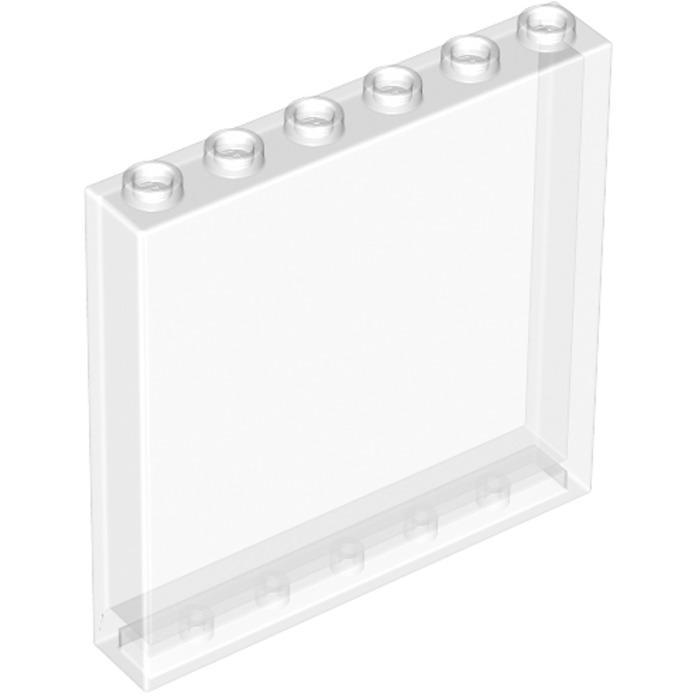 Lego 59349 white panel 1 x 6 x 5