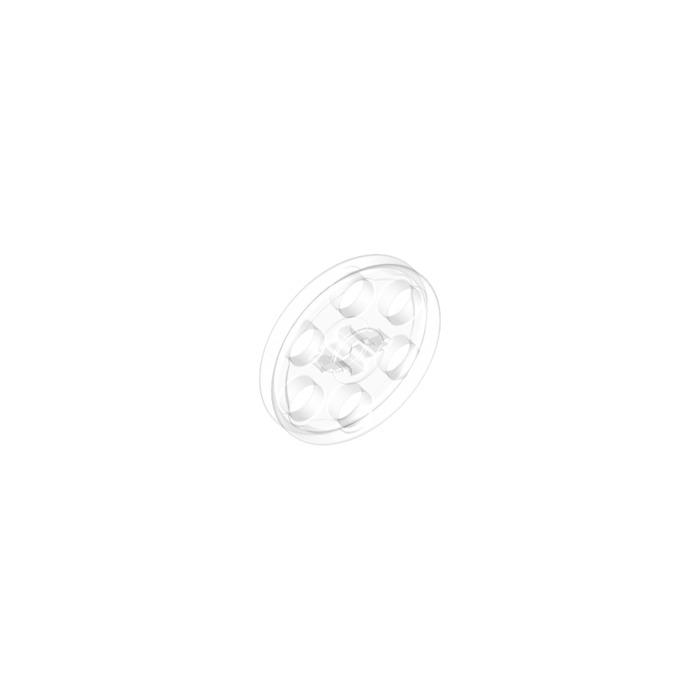 4101678 6062324 Brick 4185 LEGO NEW Transparent Wedge Belt Wheel 5x